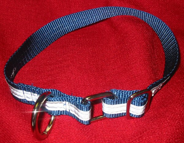 Reflective heavy duty adjustable dog collar heavy-reflective-collar/reflective-collar-blue.jpg